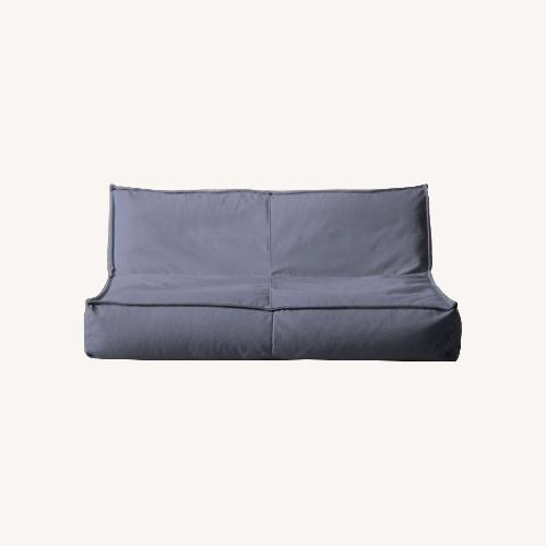Used Urban Outfitters Loveseat Lounge / Floor Pouf for sale on AptDeco