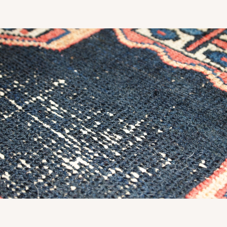 Handmade Antique Persian Hamadan Rug - image-2