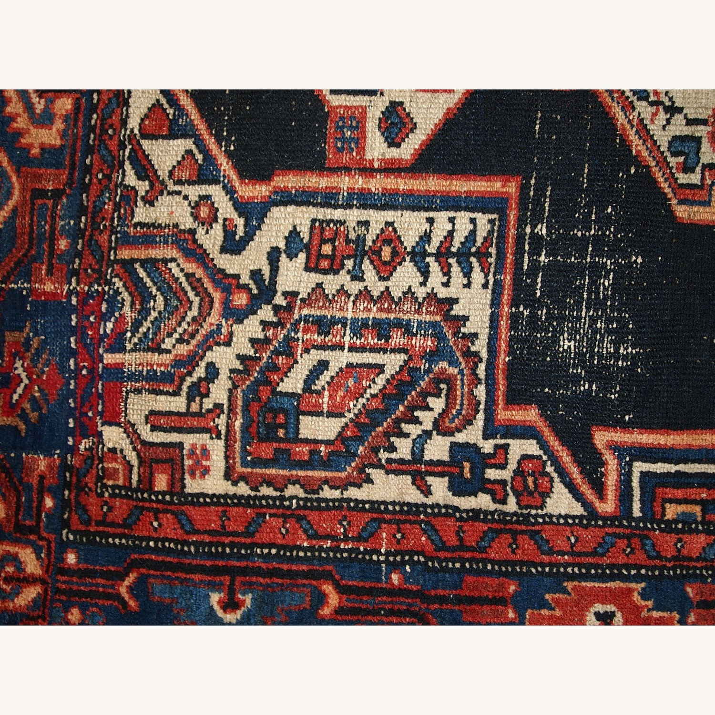 Handmade Antique Persian Hamadan Rug - image-6