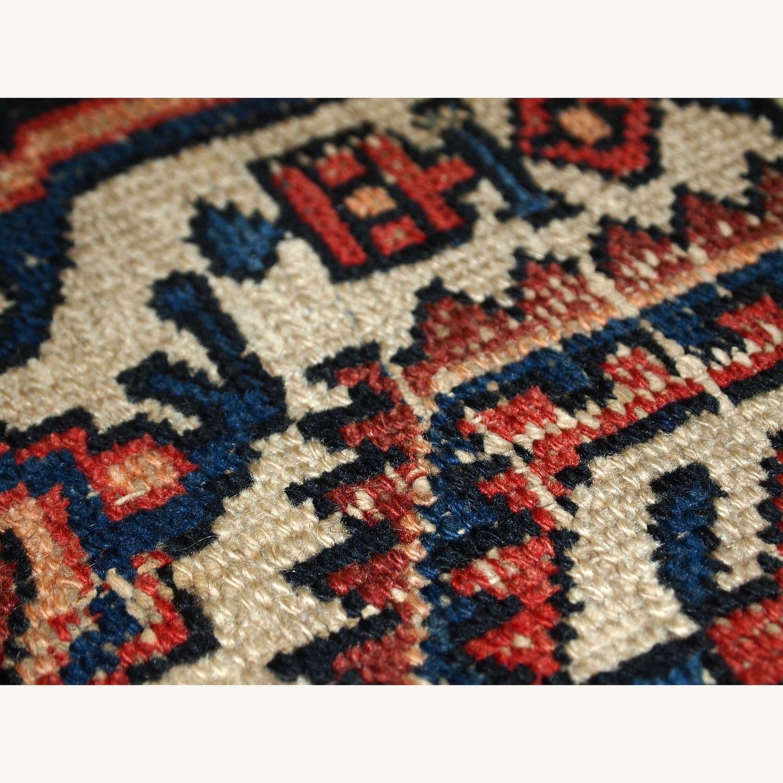 Handmade Antique Persian Hamadan Rug - image-3