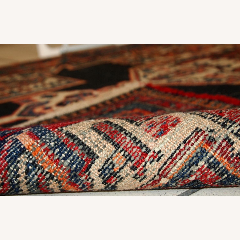 Handmade Antique Persian Hamadan Rug - image-9