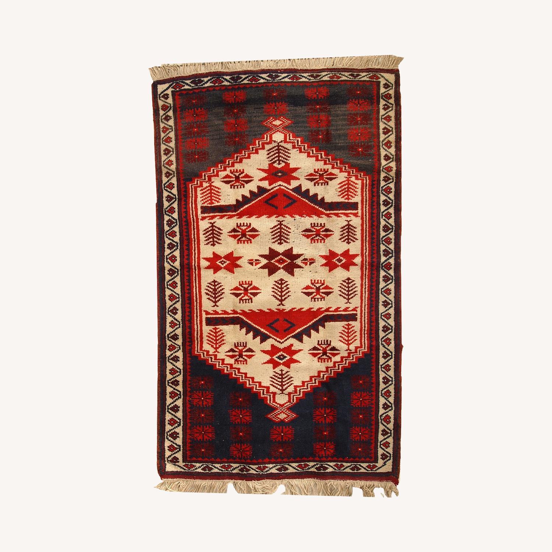 Handmade Vintage Turkish Anatolian Rug - image-0