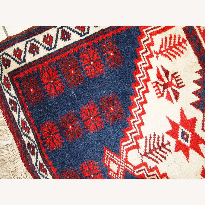 Handmade Vintage Turkish Anatolian Rug - image-6