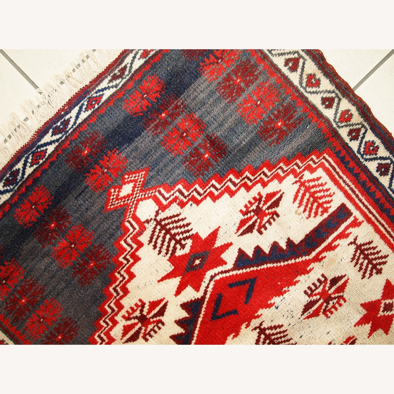 Handmade Vintage Turkish Anatolian Rug - image-9