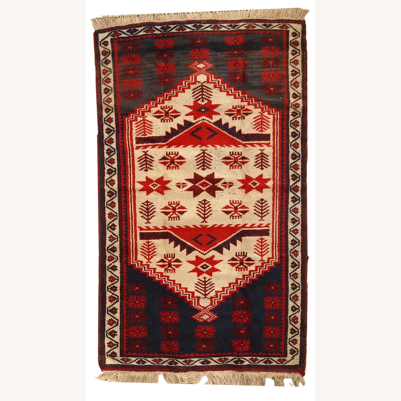 Handmade Vintage Turkish Anatolian Rug - image-1