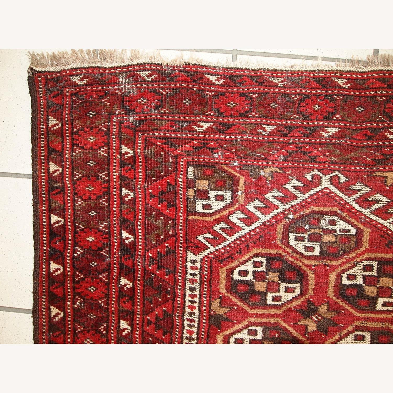 Handmade Antique Afghan Adraskand Rug - image-5