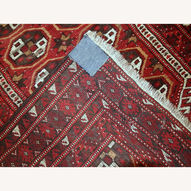 Handmade Antique Afghan Adraskand Rug - image-8