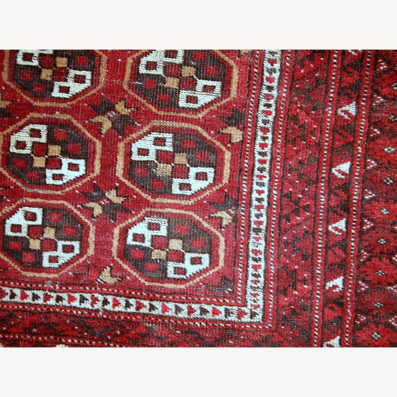 Handmade Antique Afghan Adraskand Rug - image-7