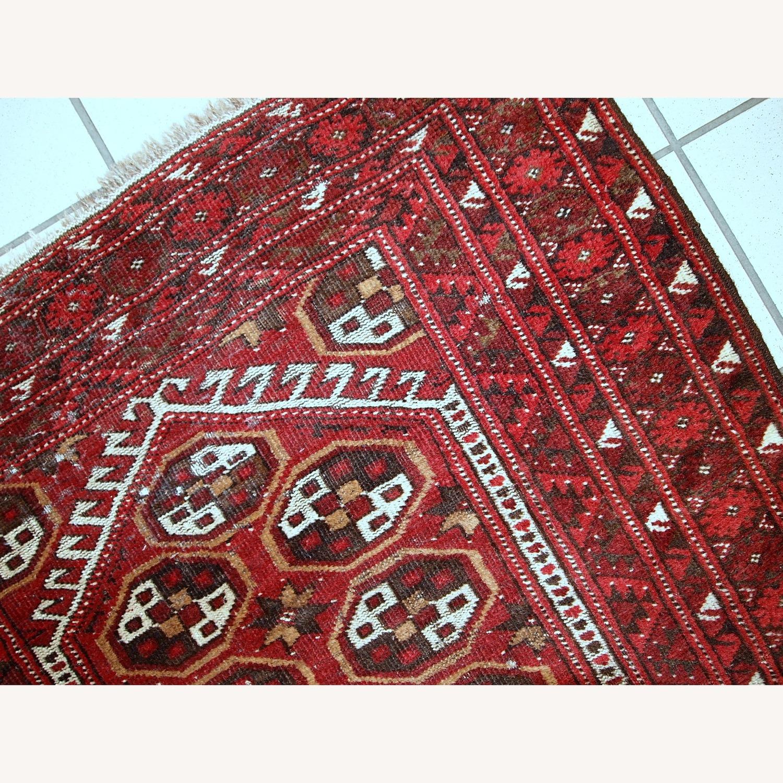 Handmade Antique Afghan Adraskand Rug - image-3