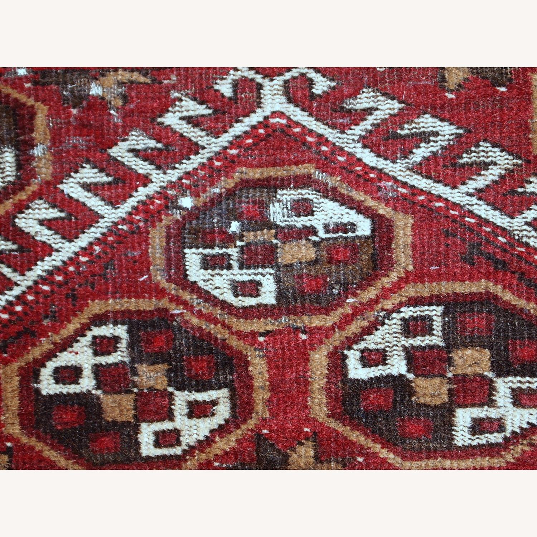 Handmade Antique Afghan Adraskand Rug - image-2