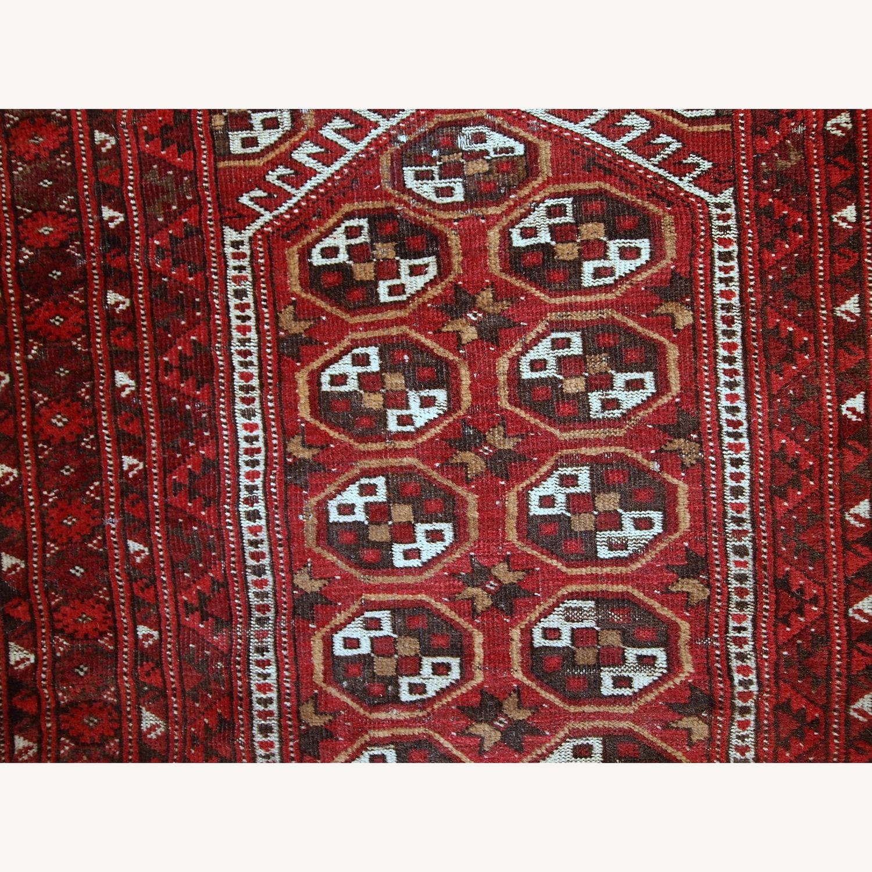 Handmade Antique Afghan Adraskand Rug - image-4