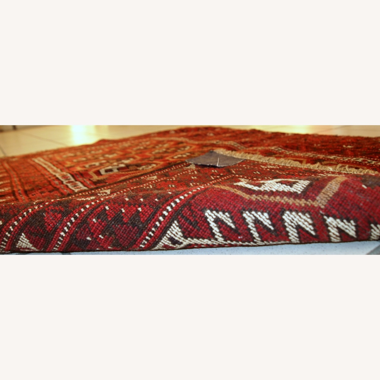 Handmade Antique Afghan Adraskand Rug - image-11