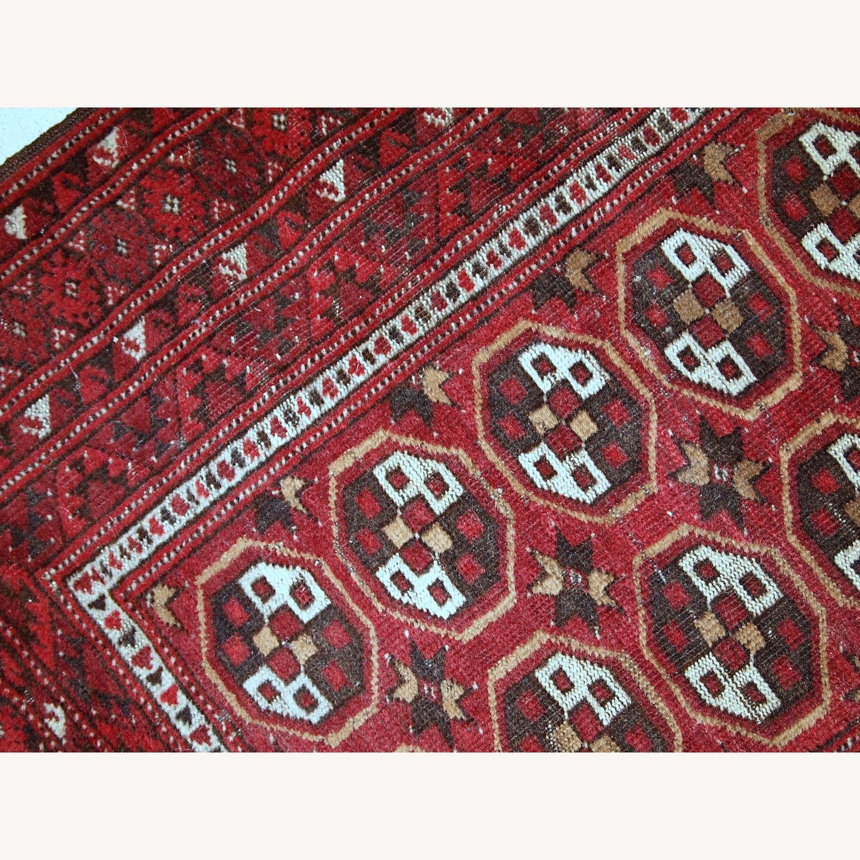 Handmade Antique Afghan Adraskand Rug - image-9