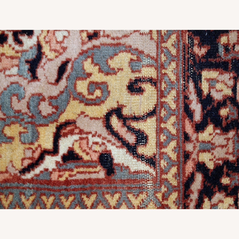 Handmade Vintage Pakistani Lahore Rug - image-5