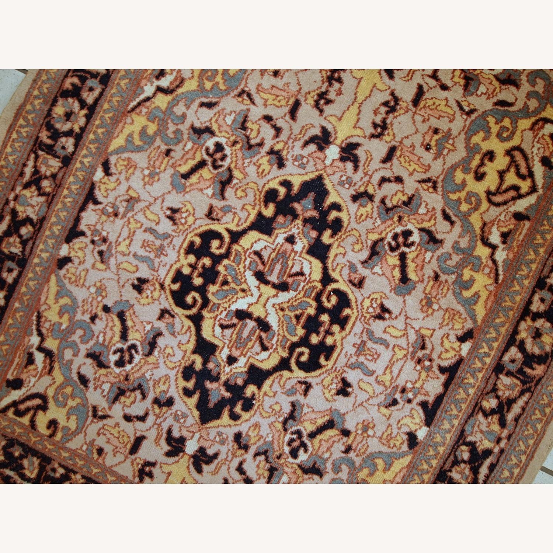 Handmade Vintage Pakistani Lahore Rug - image-11