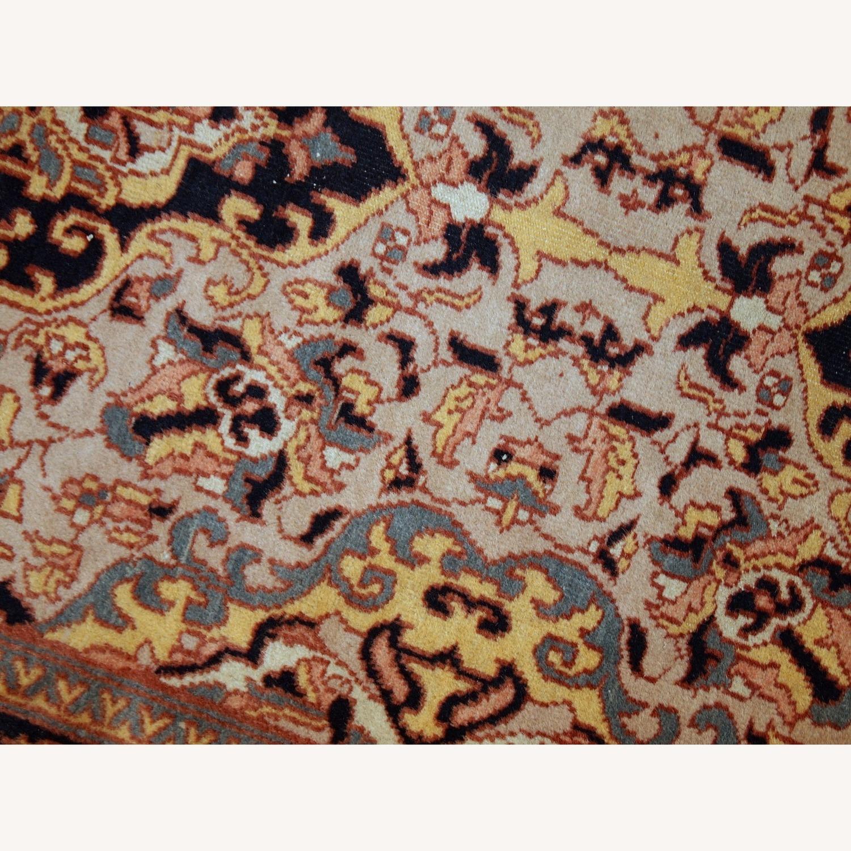 Handmade Vintage Pakistani Lahore Rug - image-3
