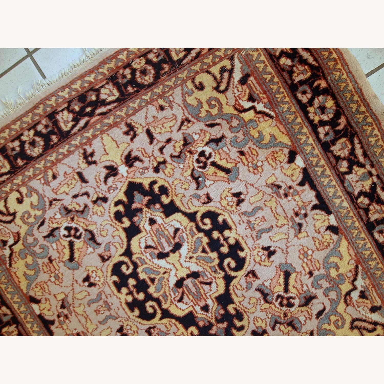 Handmade Vintage Pakistani Lahore Rug - image-9