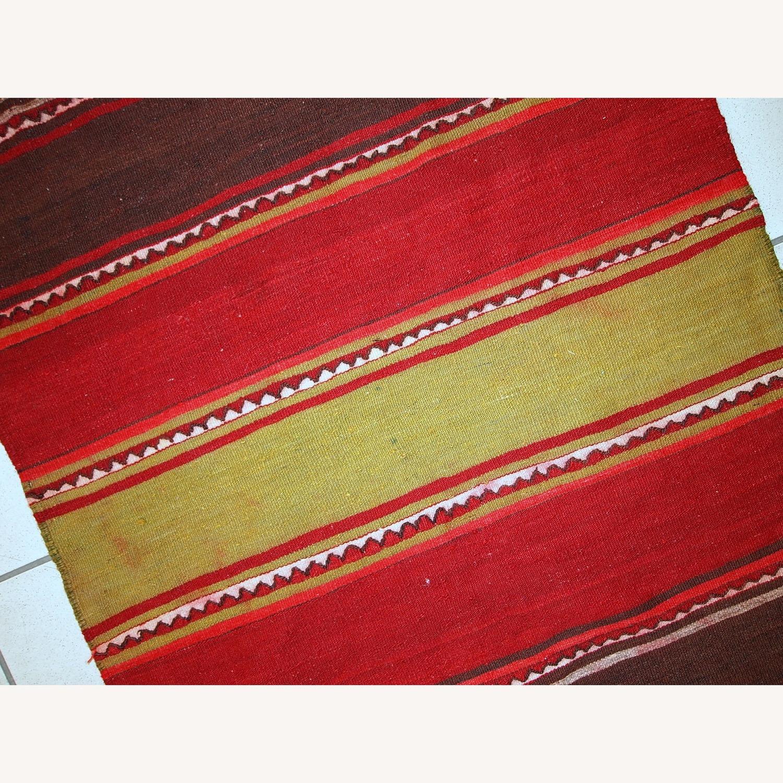 Handmade Vintage Persian Ardabil Kilim Runner - image-2