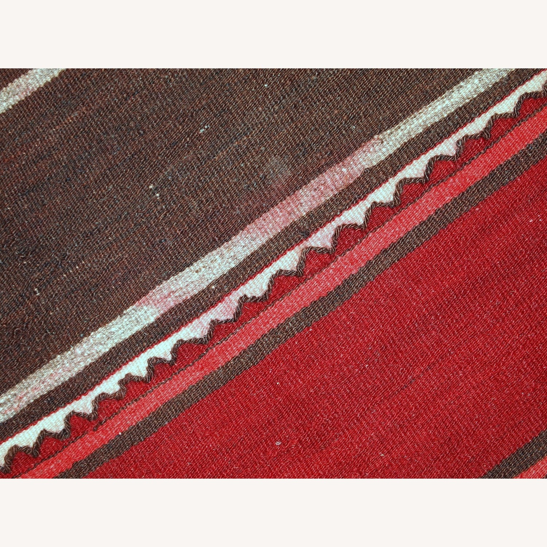 Handmade Vintage Persian Ardabil Kilim Runner - image-3