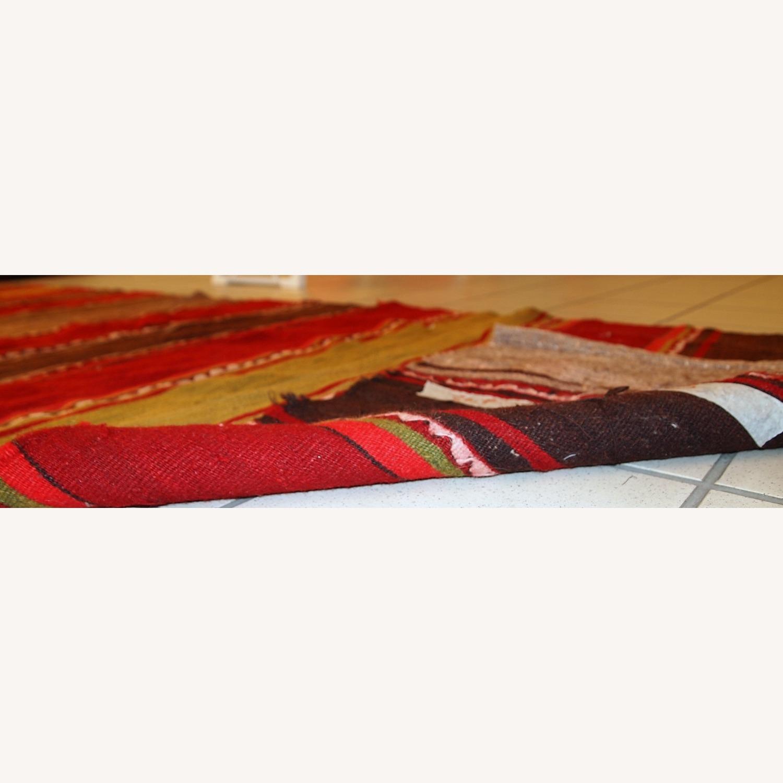Handmade Vintage Persian Ardabil Kilim Runner - image-12
