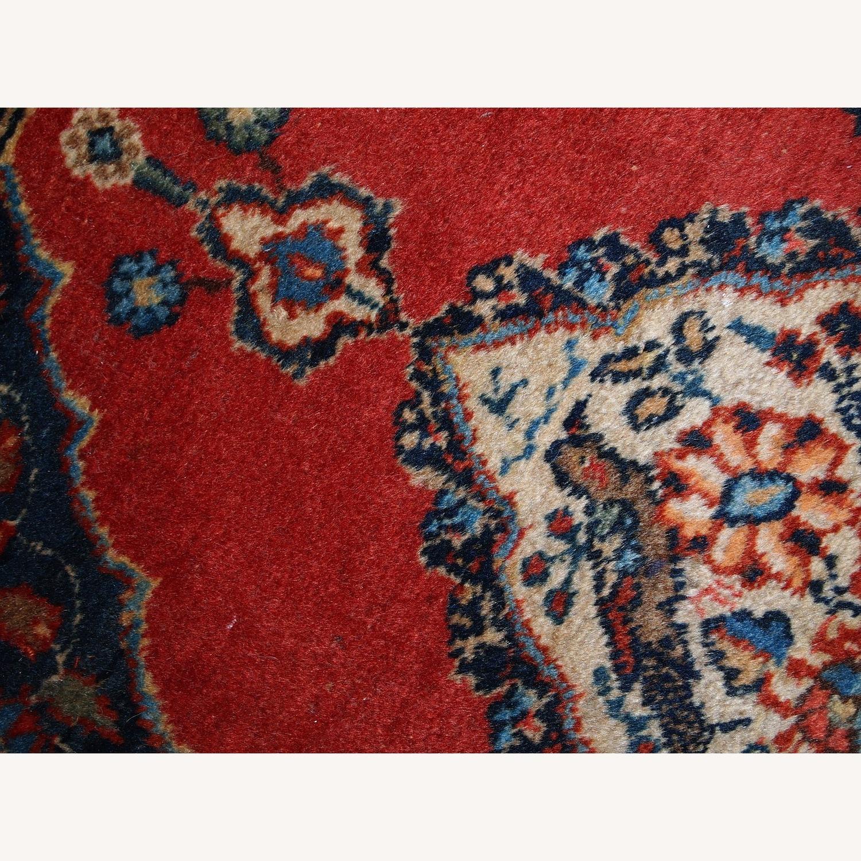 Handmade Antique Persian Tabriz Double Mat Rug - image-4