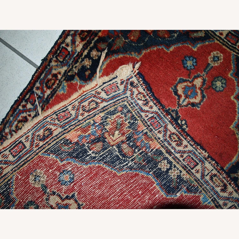 Handmade Antique Persian Tabriz Double Mat Rug - image-10
