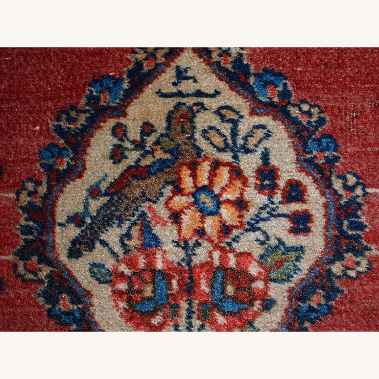 Handmade Antique Persian Tabriz Double Mat Rug - image-6