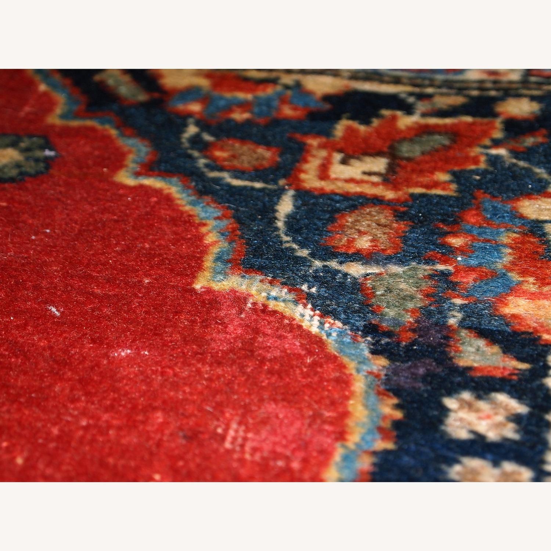 Handmade Antique Persian Tabriz Double Mat Rug - image-9