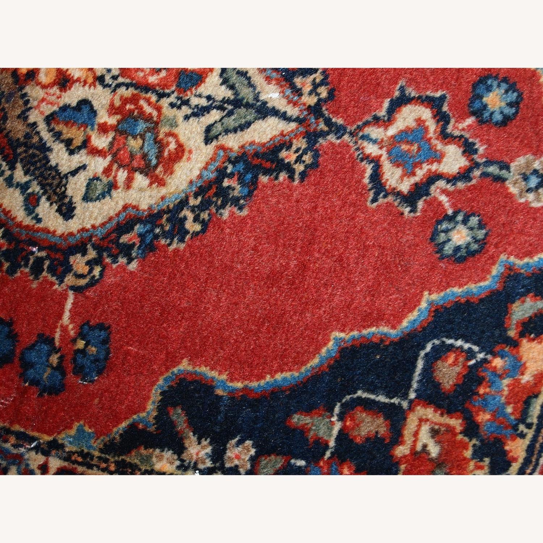 Handmade Antique Persian Tabriz Double Mat Rug - image-3