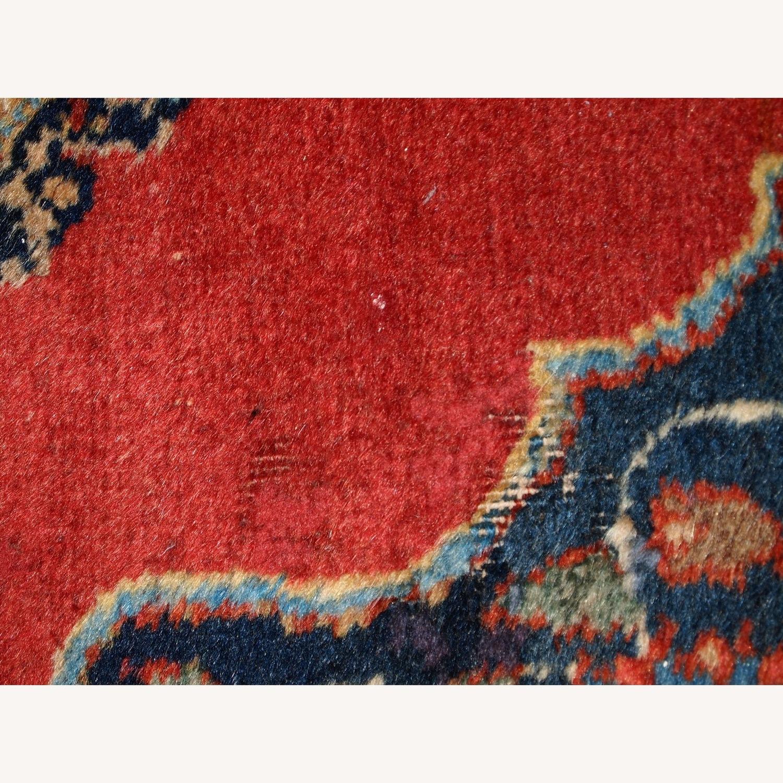 Handmade Antique Persian Tabriz Double Mat Rug - image-2