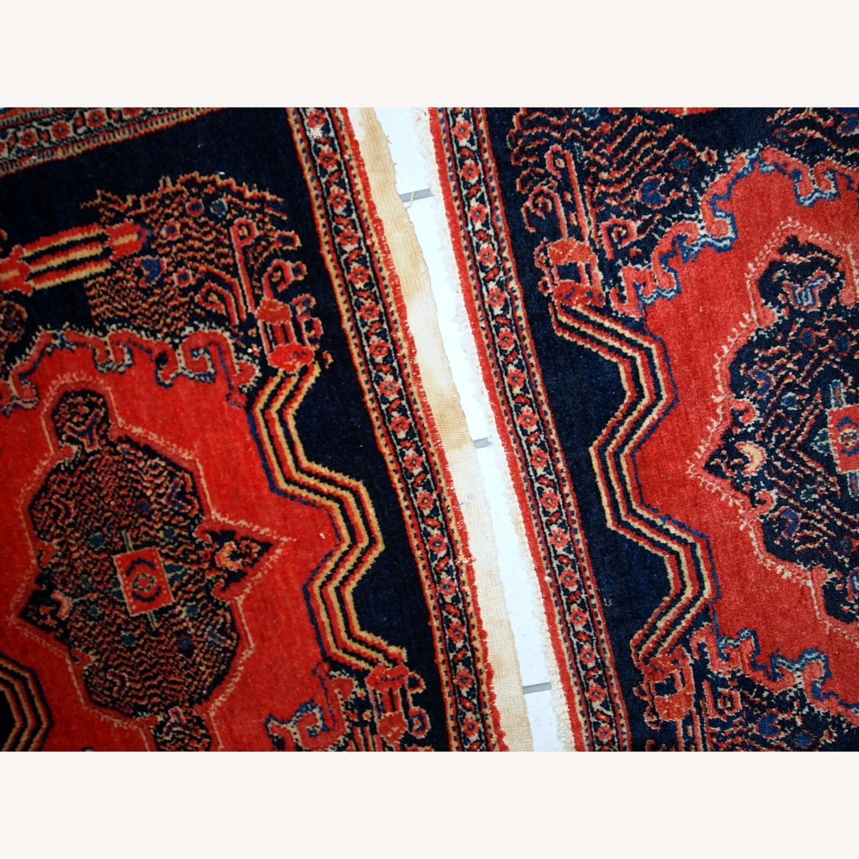 Handmade Antique Persian pair of Senneh Rugs - image-8