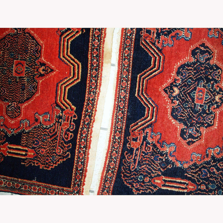 Handmade Antique Persian pair of Senneh Rugs - image-3