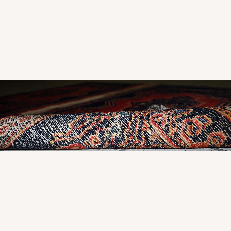 Handmade Antique Persian pair of Senneh Rugs - image-10