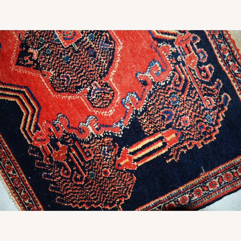 Handmade Antique Persian pair of Senneh Rugs - image-4