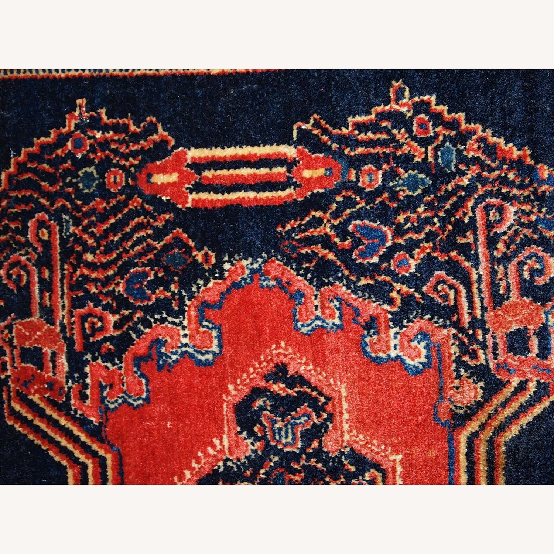 Handmade Antique Persian pair of Senneh Rugs - image-6