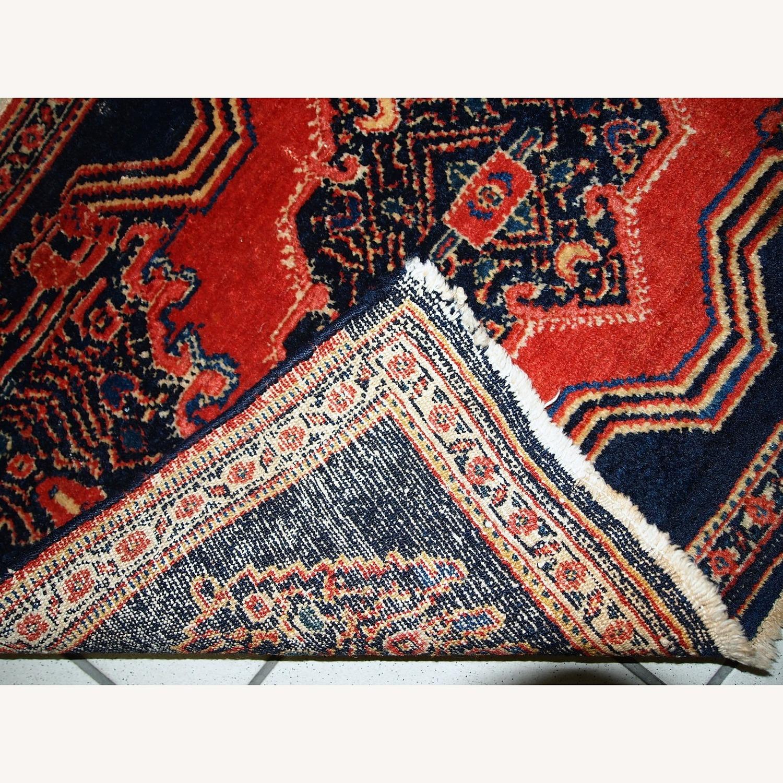 Handmade Antique Persian pair of Senneh Rugs - image-2