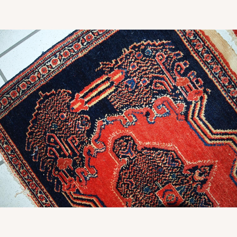Handmade Antique Persian pair of Senneh Rugs - image-7