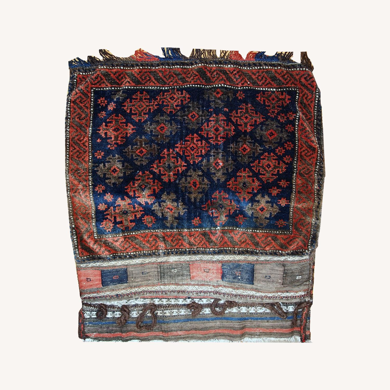 Handmade Antique Afghan Baluch Salt Bag - image-0