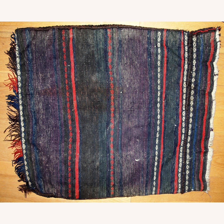 Handmade Antique Afghan Baluch Salt Bag - image-8
