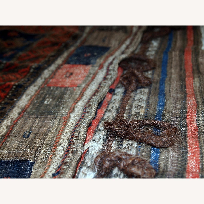 Handmade Antique Afghan Baluch Salt Bag - image-7