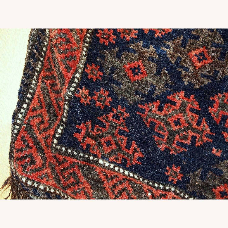 Handmade Antique Afghan Baluch Salt Bag - image-3