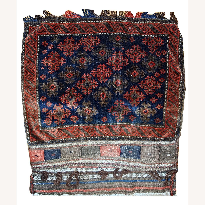 Handmade Antique Afghan Baluch Salt Bag - image-1