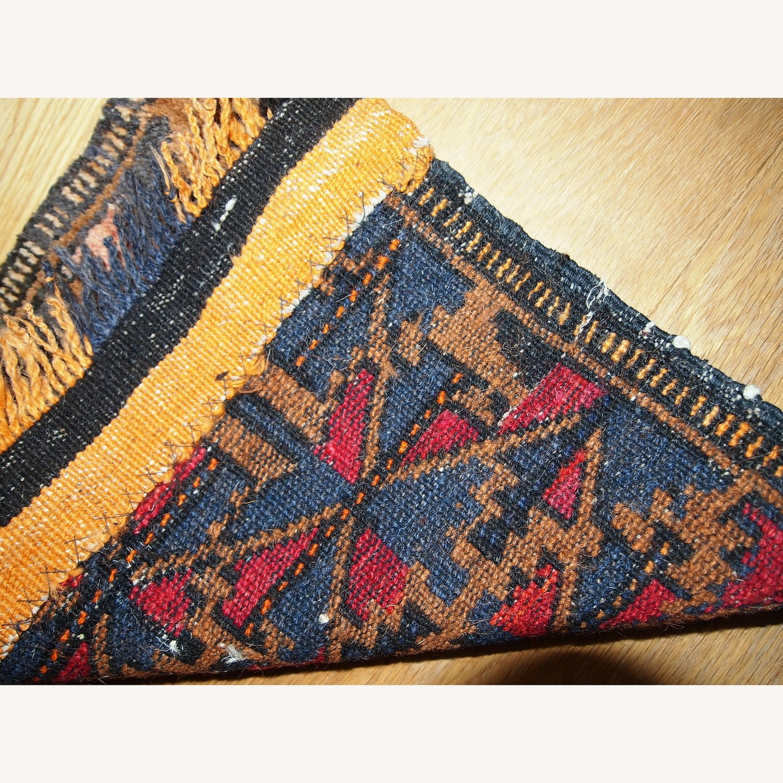Handmade Antique Collectible Uzbek Bag Face - image-4