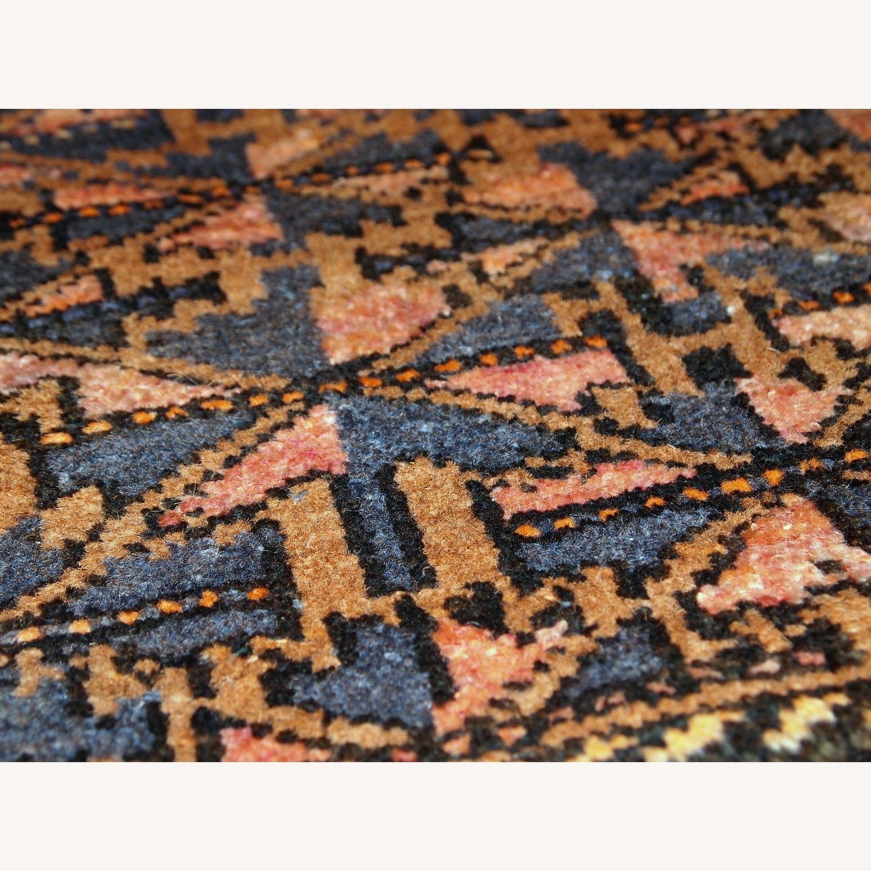 Handmade Antique Collectible Uzbek Bag Face - image-5