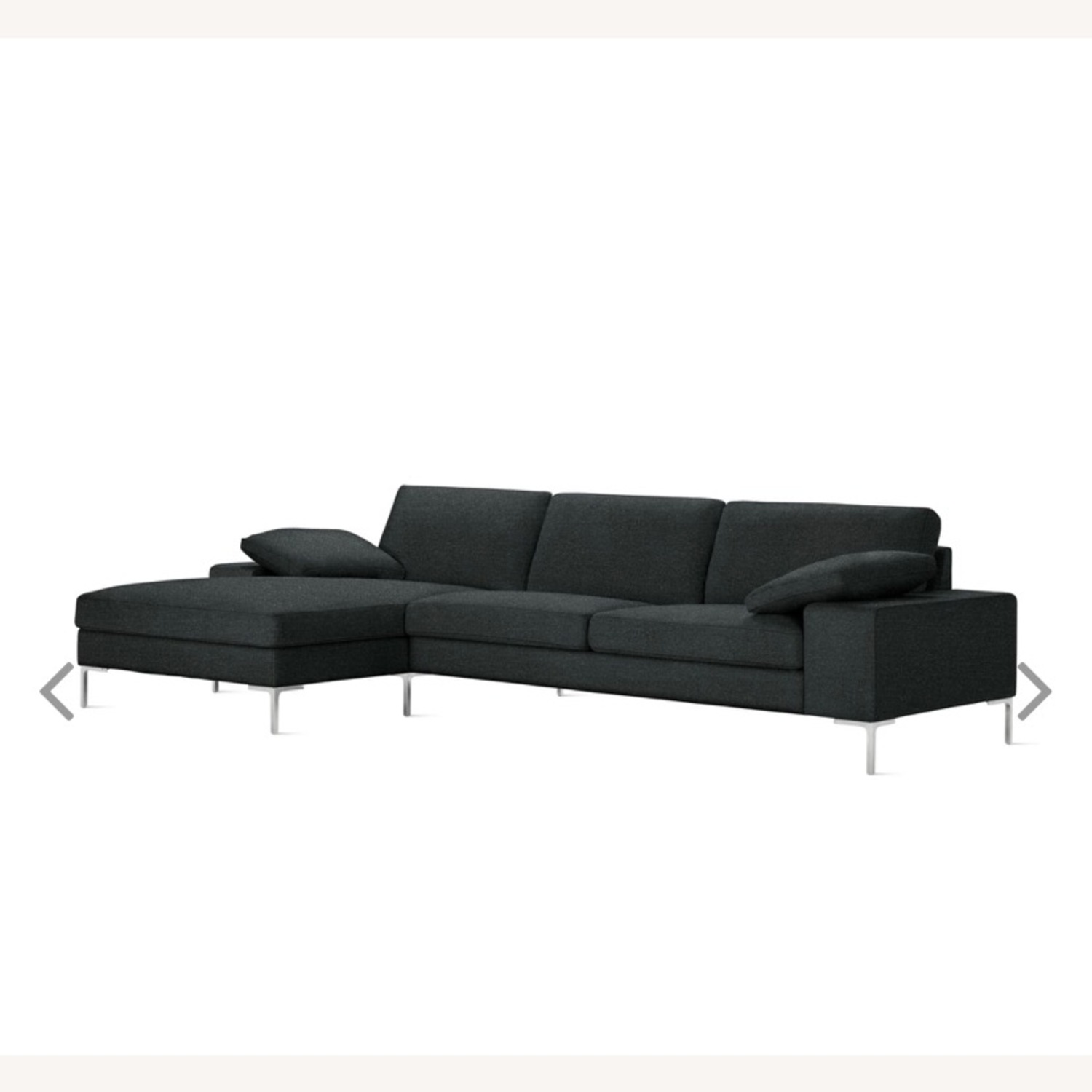 Design Within Reach Italian Wool Sectional - image-0