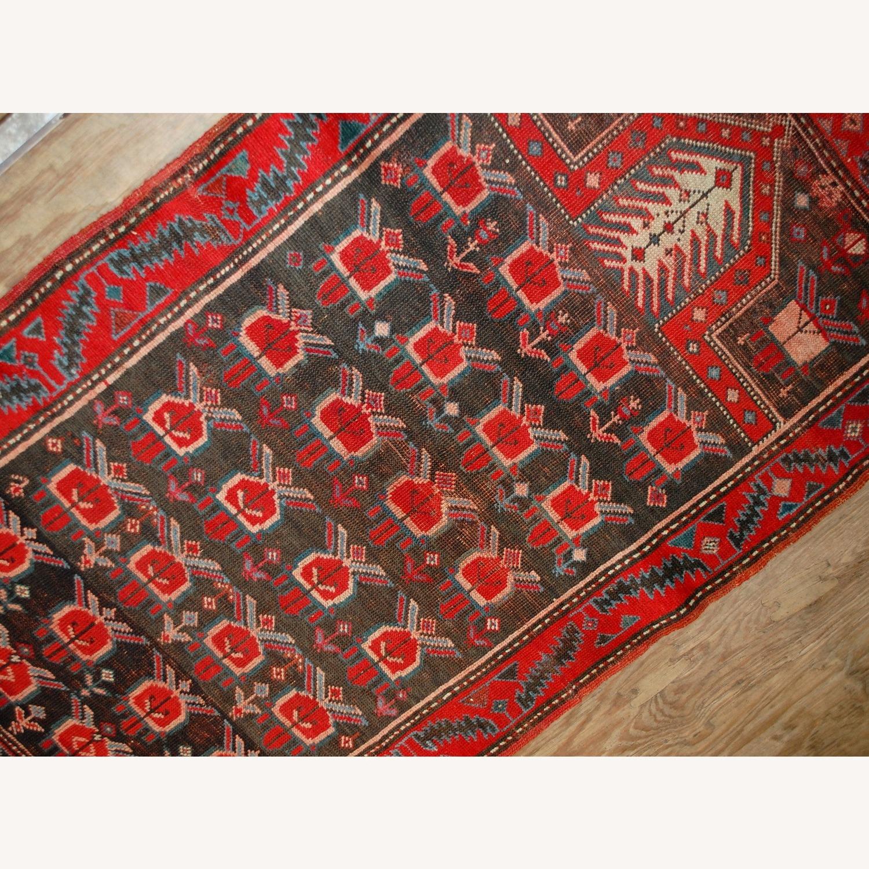 Handmade Antique Caucasian Karabagh Rug - image-6