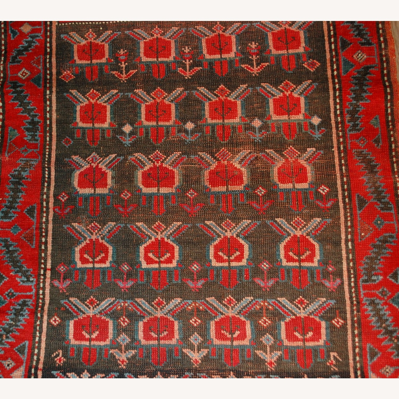 Handmade Antique Caucasian Karabagh Rug - image-8