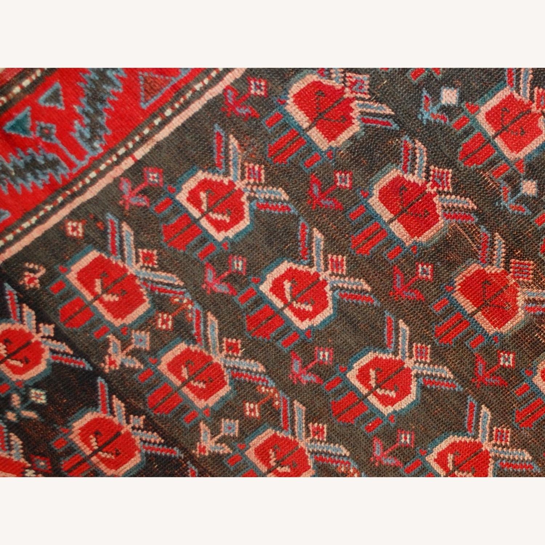 Handmade Antique Caucasian Karabagh Rug - image-4