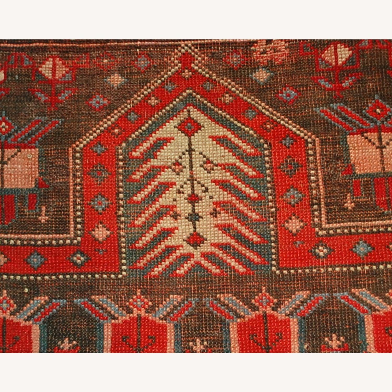 Handmade Antique Caucasian Karabagh Rug - image-2