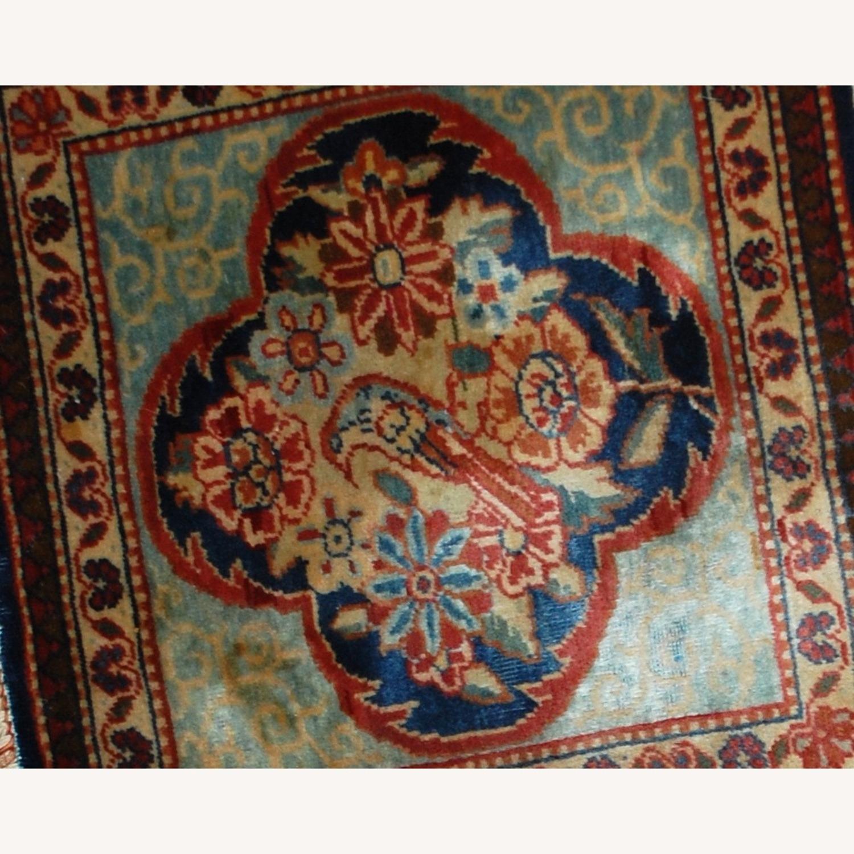 Handmade Antique Persian pair of Dabir Kashan Rugs - image-2